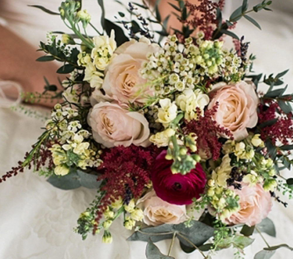 Green And Wild Flowers Specialise In Wedding Floristry West Wales