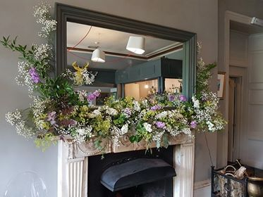 Wedding flowers at Hammet House Pembrokeshire
